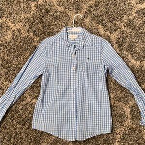 Vineyard Vines Plaid Button Down Shirt